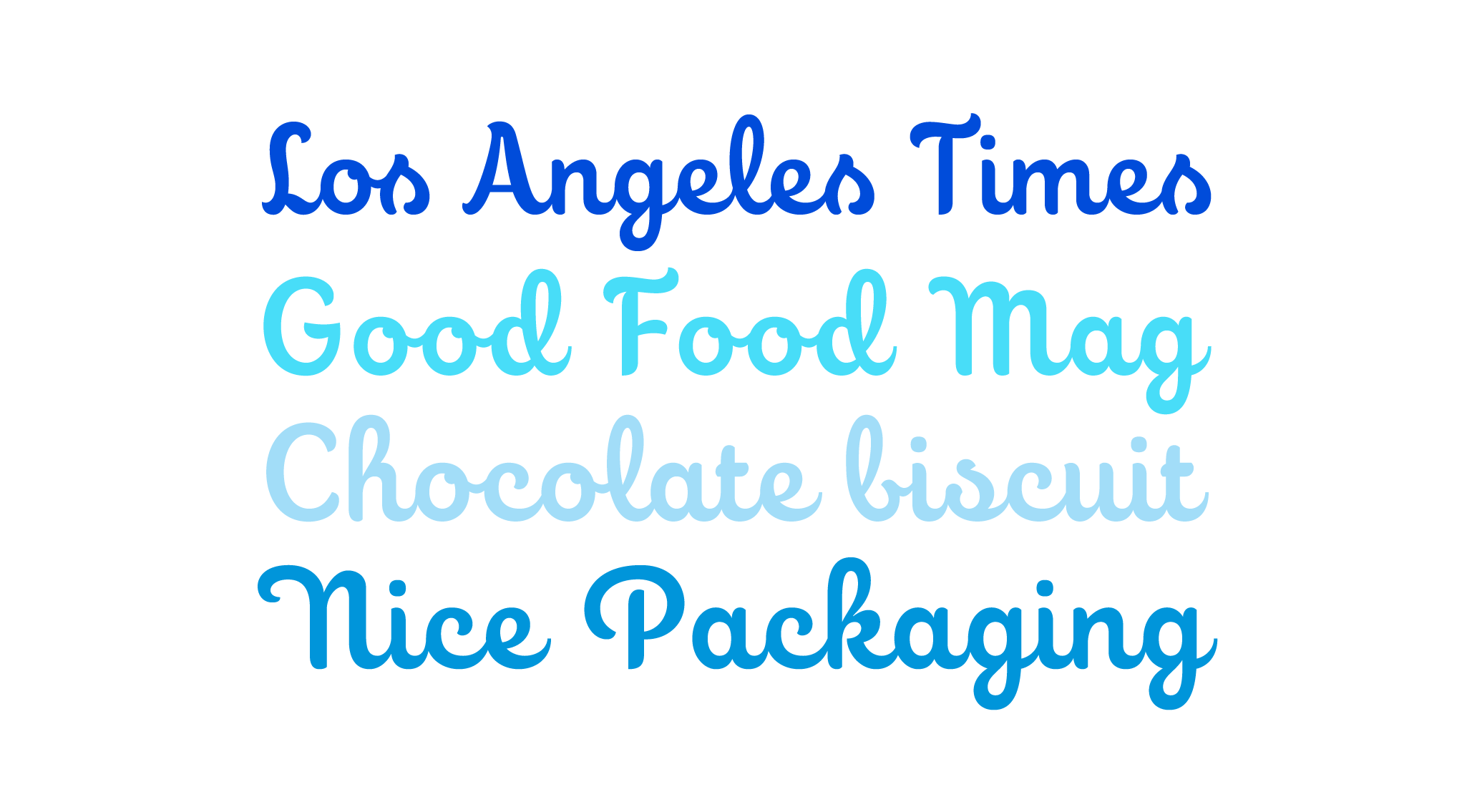 Choco is a new script typeface designed by Andrei Robu. Available on www.typeverything.com