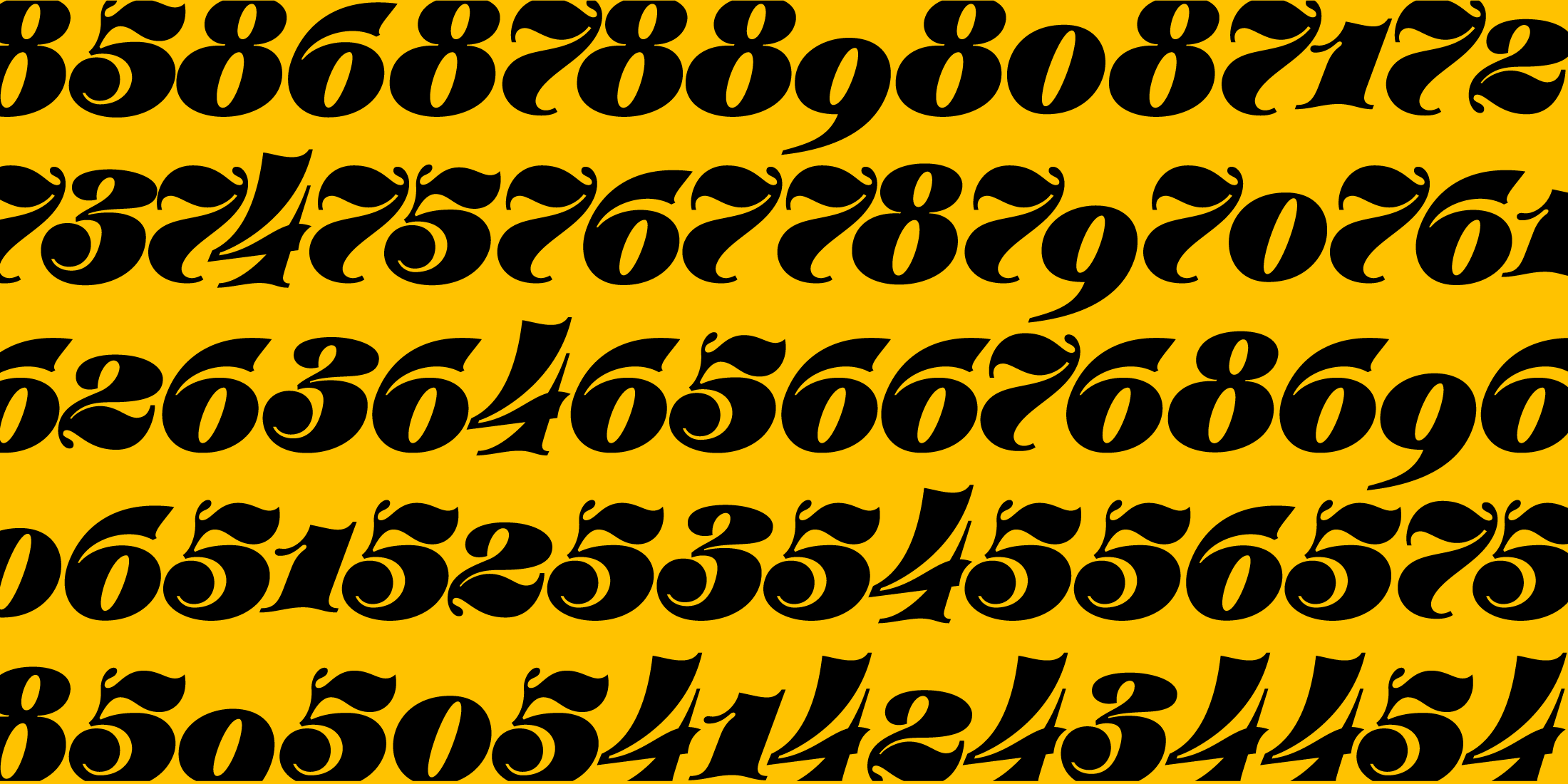 Robu Display, a new italic didone typeface designed by Andrei Robu. Available on www.typeverything.com