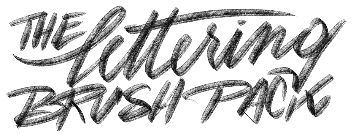 The Typeverything Procreate Brush Pack  for Lettering
