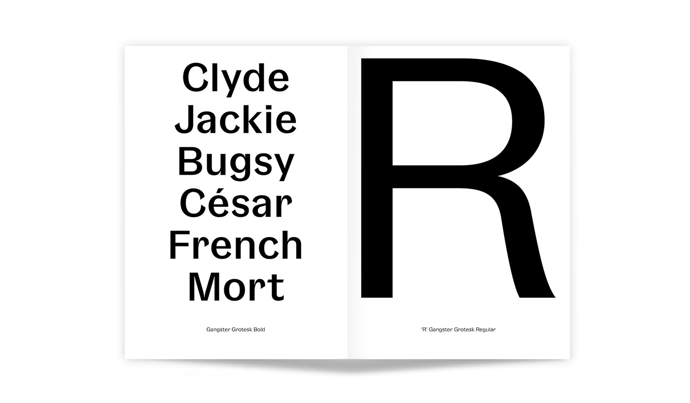 Gangster Grotesk, a free typeface on Typeverything.com
