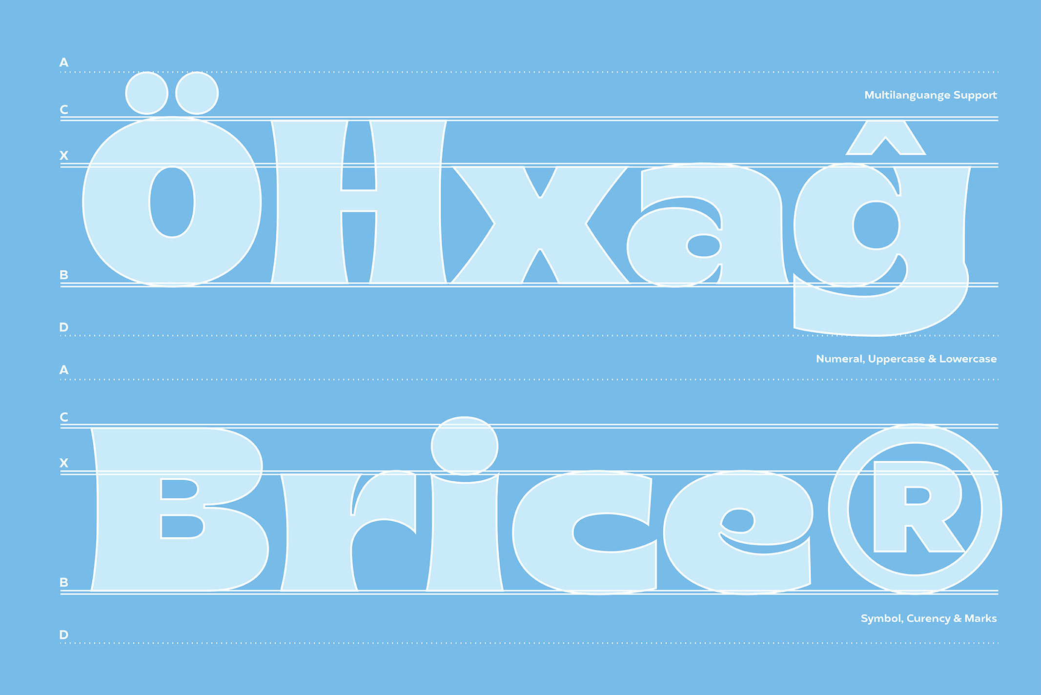 Brice is a new typeface designed by Cahya Sofyan for www.typeverything.com