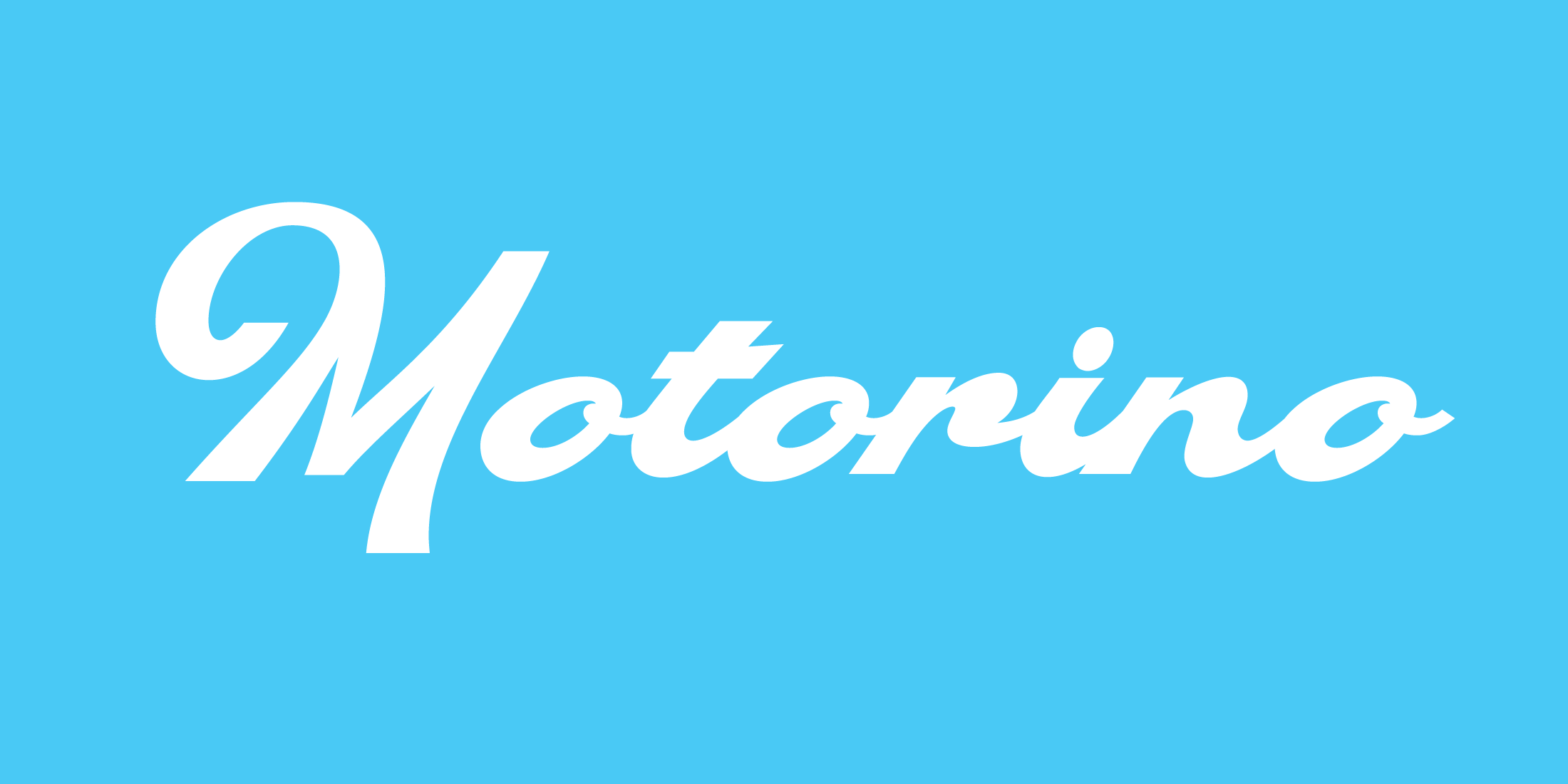 Motorino, a new script typeface designed by Andrei Robu. Available on www.typeverything.com