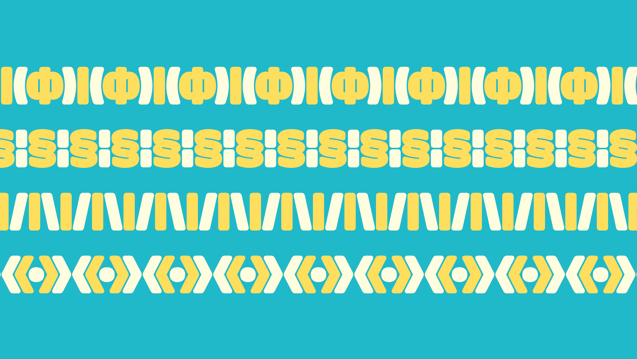 Doughy, a new sans typeface designed by Teddy Derkert. Available on www.typeverything.com