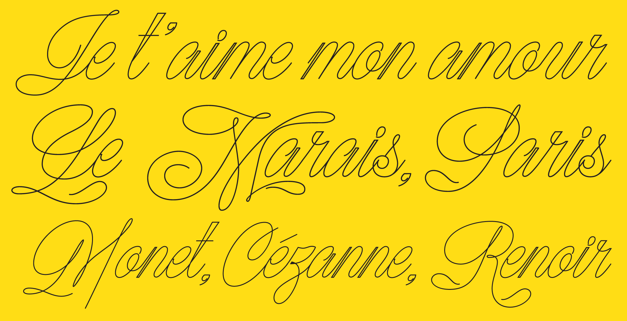Kitsune, a new script typeface designed by Andrei Robu. Available on www.typeverything.com