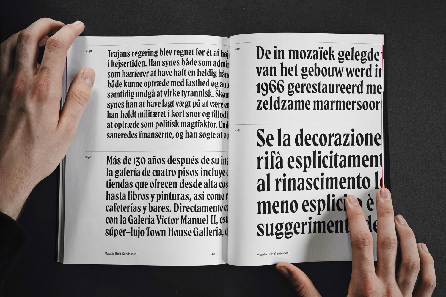 Magalie, a brand new typeface designed by Mark van Leeuwen for www.typeverything.com