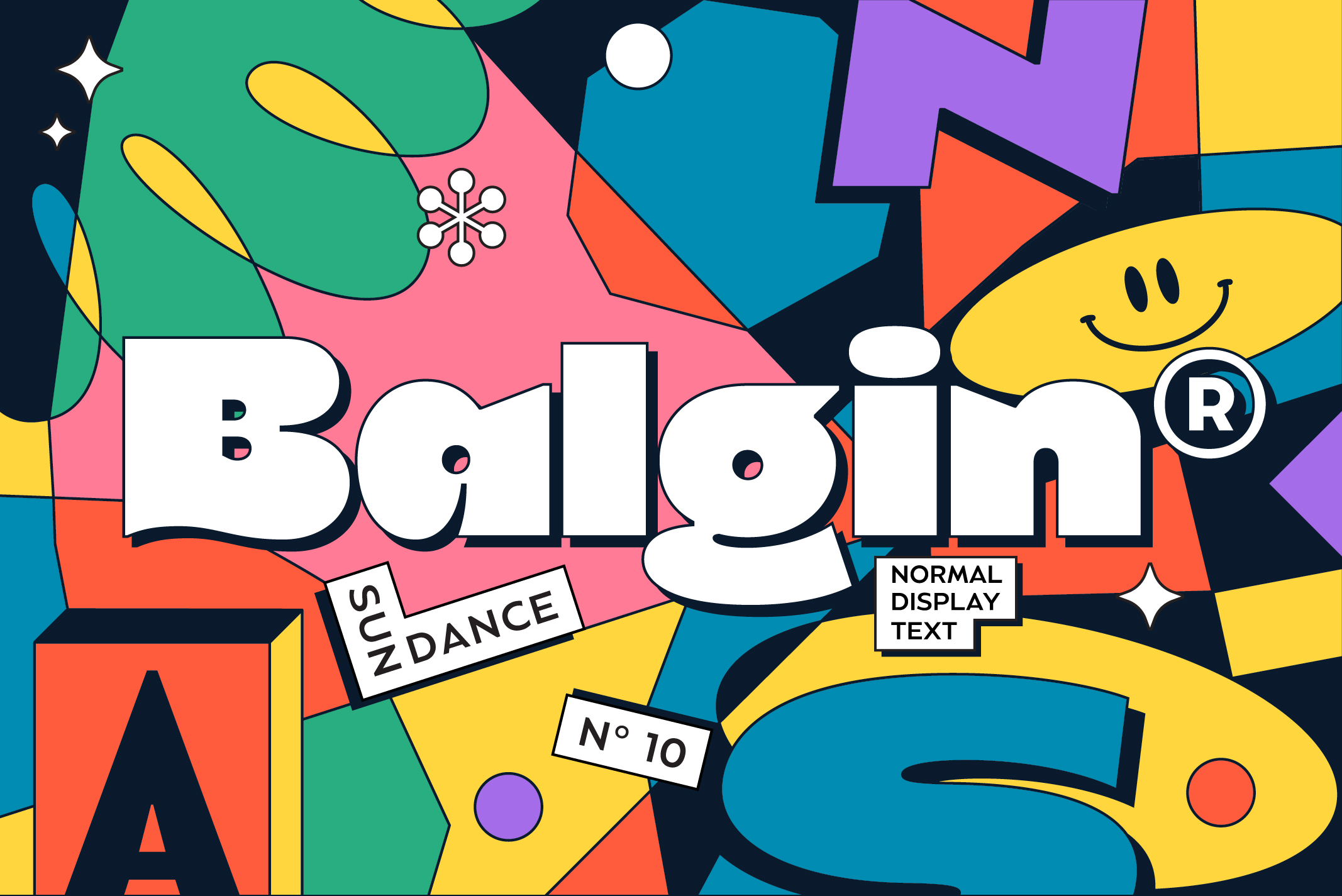 Balgin is a new display typeface designed by Cahya Sofyan for Typeverything.com