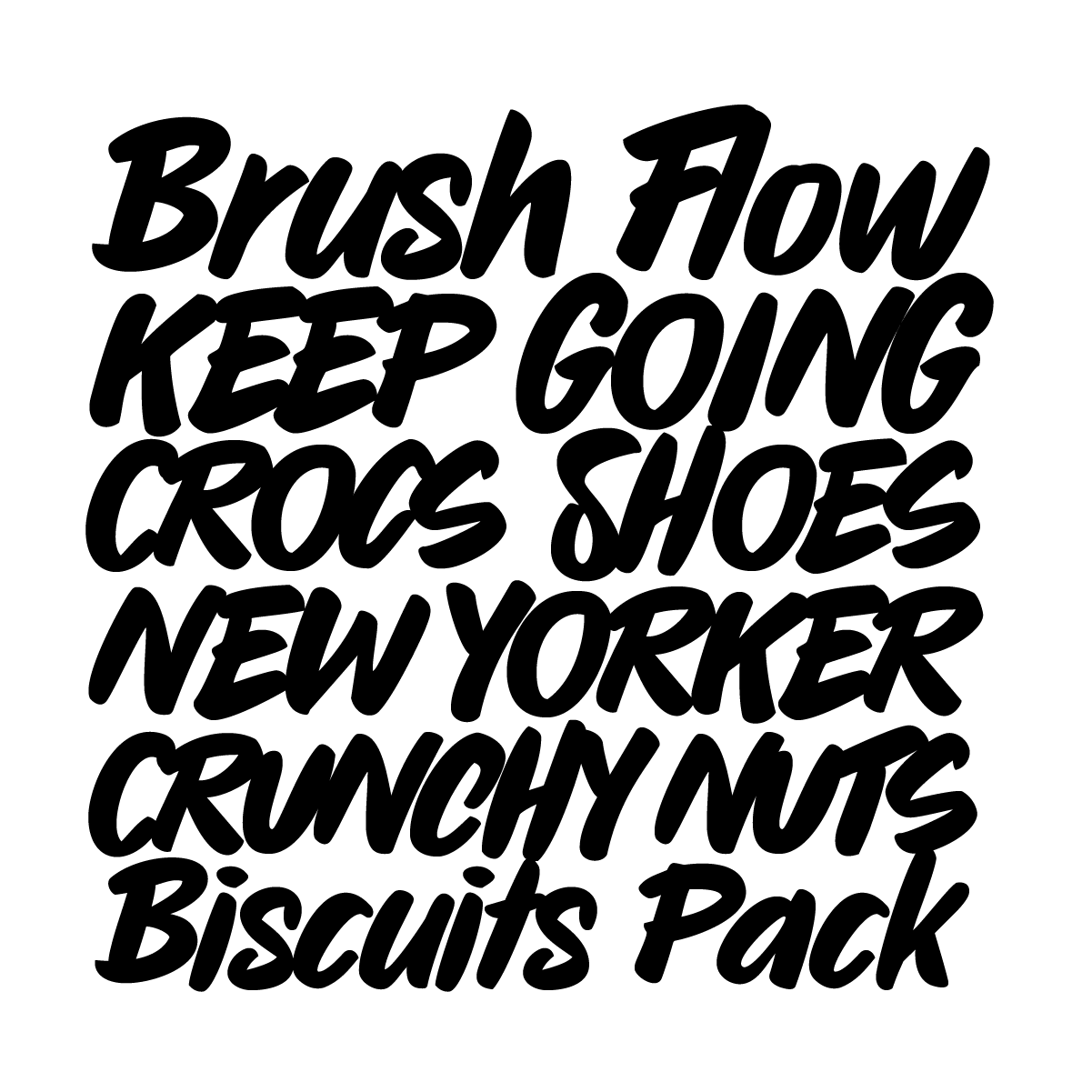Sharpie Pro, a new hand drawn font by Andrei Robu for www.typeverything.com