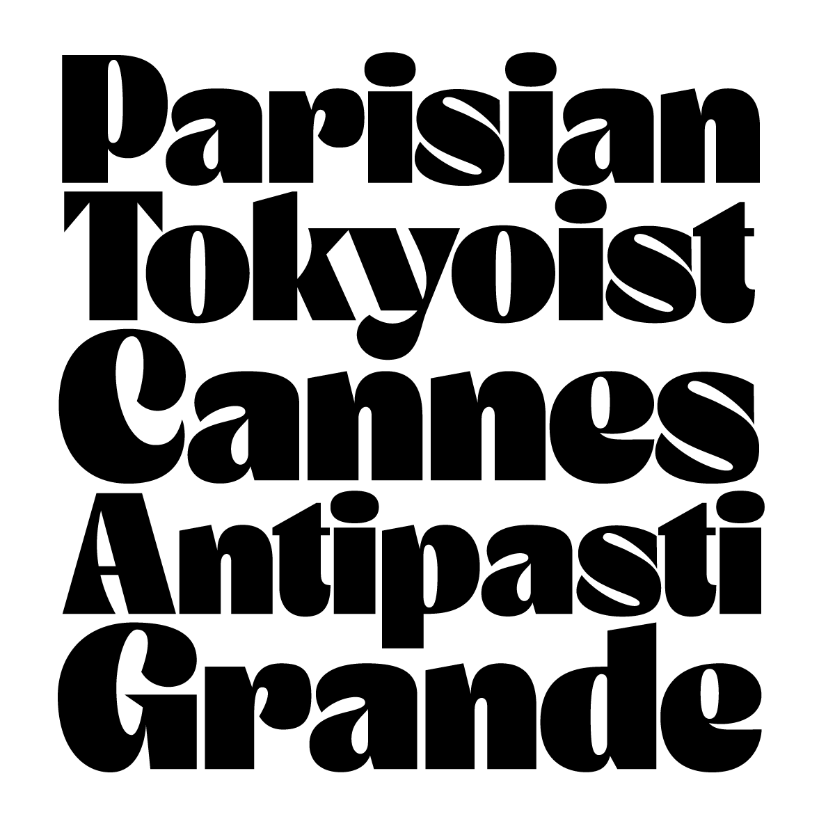 Brule, a new display typeface designed by Andrei Robu for Typeverything.com