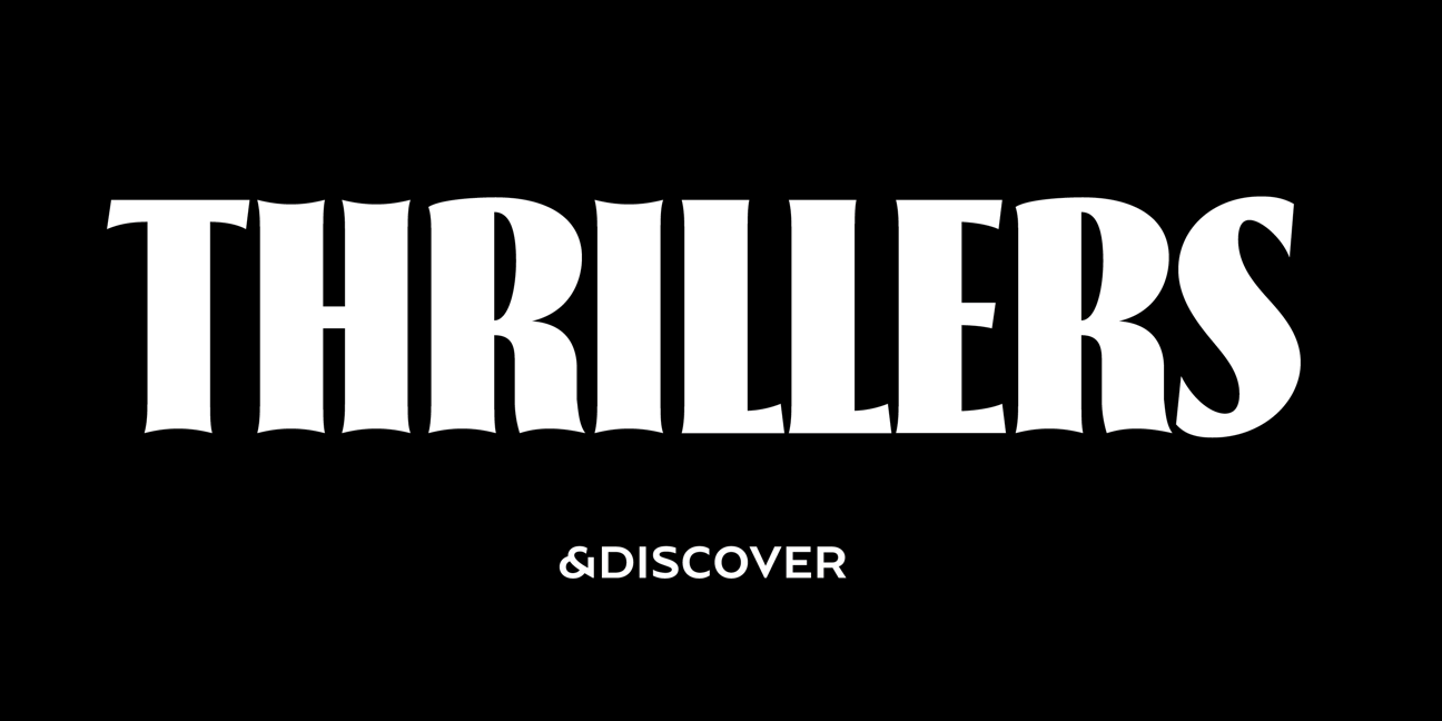 Thrillers, a font family designed by Natanael Gama for Typeverything.com