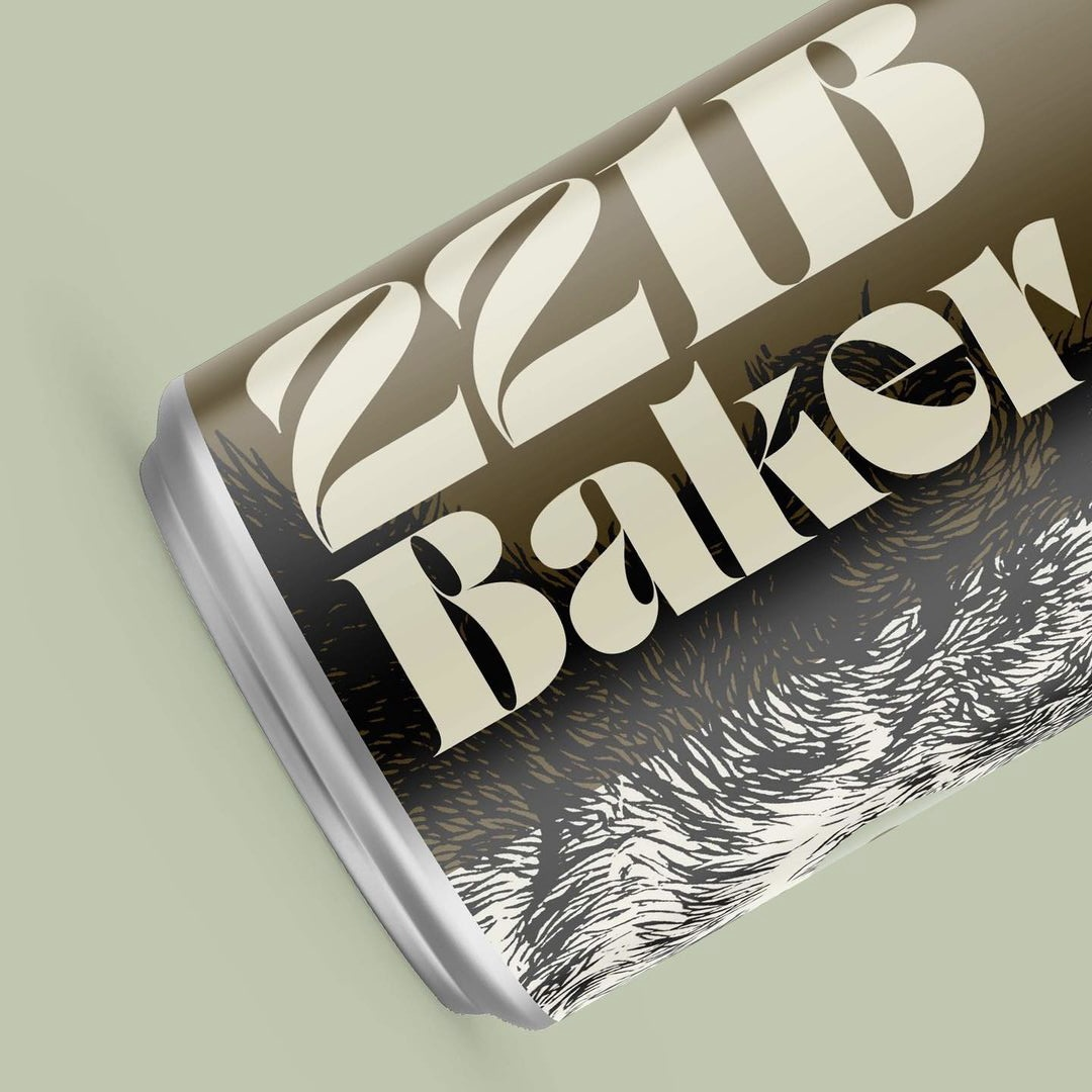 Rob Harrigan using Boldoni by www.typeverything.com for this beer packaging.