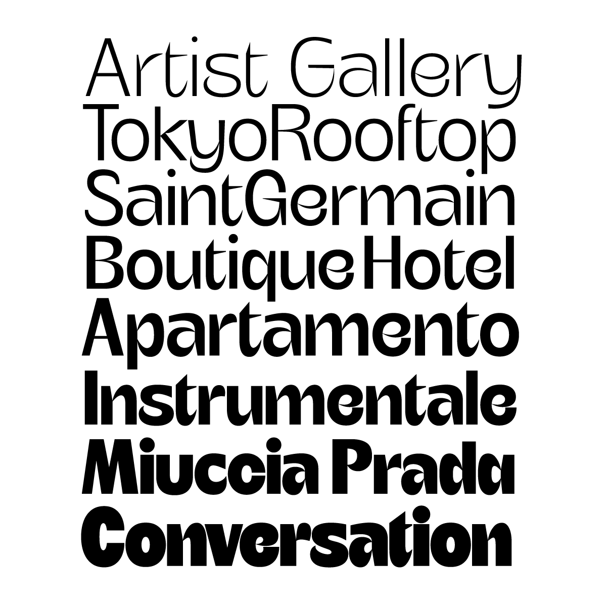 Mochi, a new typeface by Andrei Robu for Typeverything.com