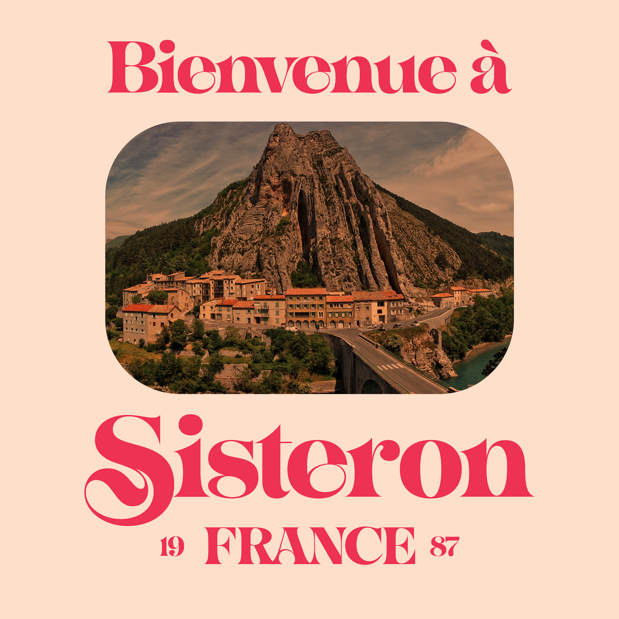 Sisteron, a new font designed by Simon Walker for Typeverything.com